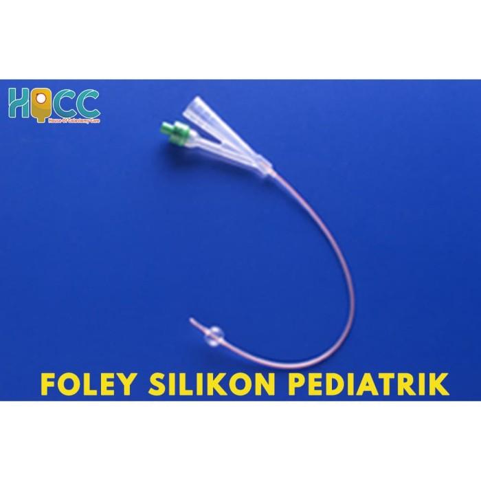 Foto Produk FOLEY CATHETER SILICON PEDIATRIC NO 6/8/10 RUSCH dari House of Colostomy Care