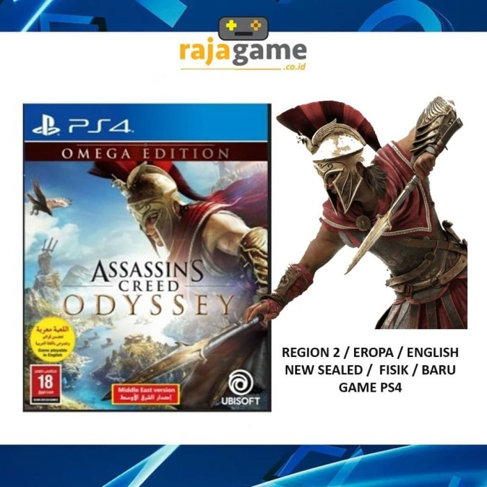 Jual Assassins Creed Odyssey Omega Edition Game Ps4 R2 Jakarta