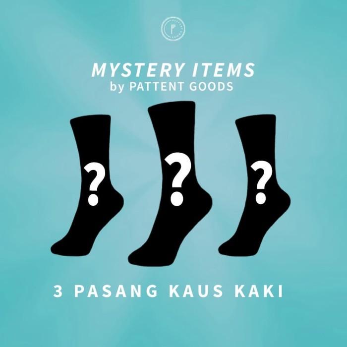 Foto Produk Kaos Kaki Pattent Goods Mystery Item Paket 3 Pasang dari Pattent Goods