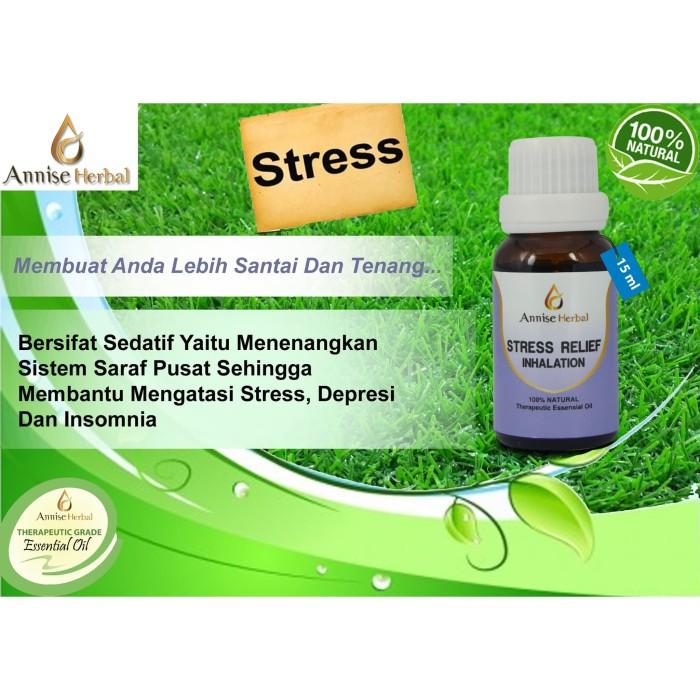 Foto Produk Obat stress, Depresi, Obat penenang, Stress Relief Inhalation 15ml dari anniseherbal