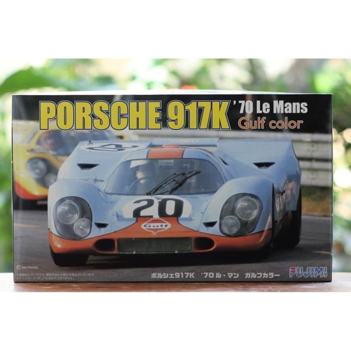 Foto Produk Model kit Fujimi 1/24 Porsche 917K Le Mans dari rumahmokit