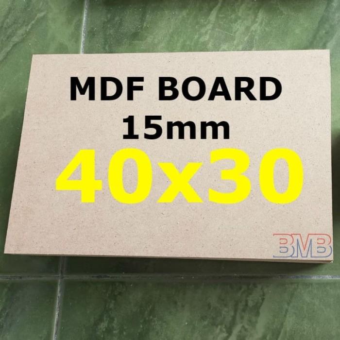 Foto Produk MDF Board 15mm Ukuran 40cm x 30cm dari belimasbro(dot)com