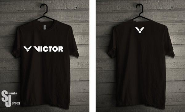 Jual Tshirt Badminton Victor Depan Belakang Kaos Distro Badminton Kota Surabaya Panama Mart Tokopedia