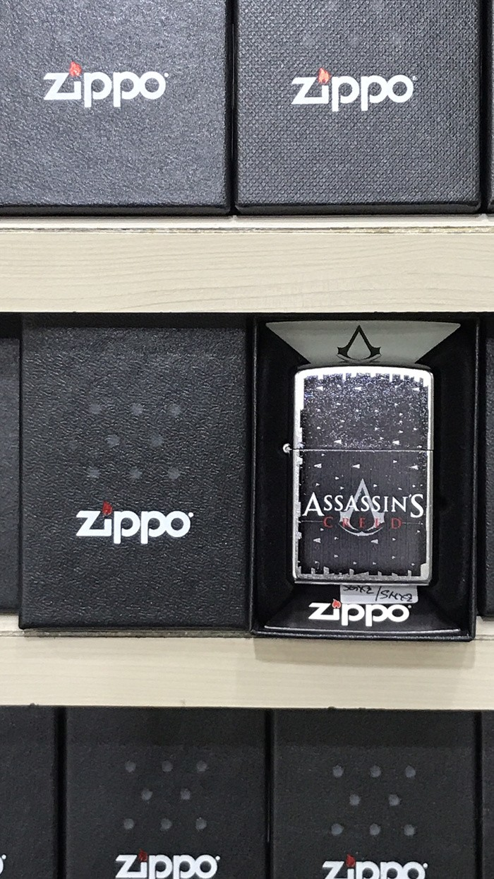 Jual Zippo Lighter Mancis Korek Api Zippo Original Assassins