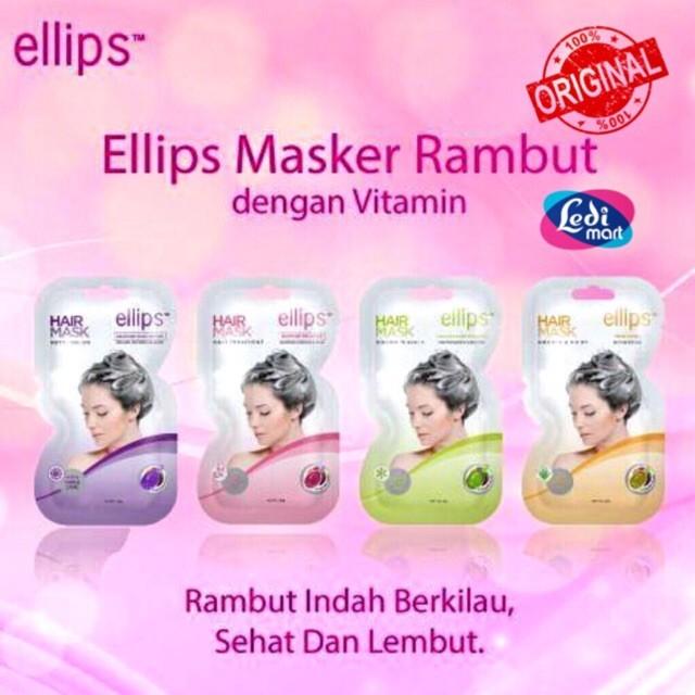 Jual Promo Original Ellips Hair Mask Sachet 20gr Bpom Ellips Masker Jakarta Utara Zastores Tokopedia