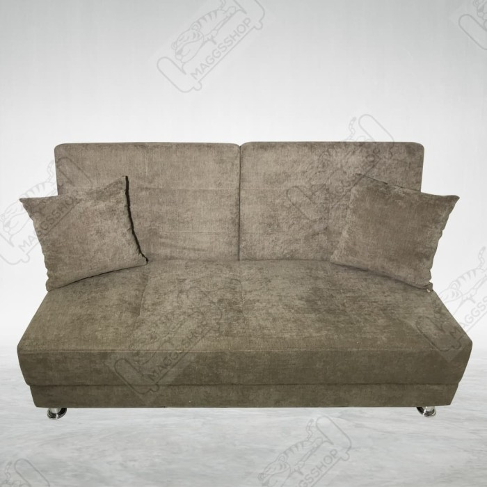Jual Sofabed Sofa Bed Ivory Smooth Brown Suede Double Reclining Seat Kab Tangerang Maggsshop Tokopedia
