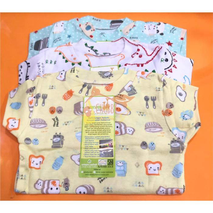 Foto Produk Velvet Junior - Short Sleeve Tee 3pcs - SMALL dari Chubby Baby Shop