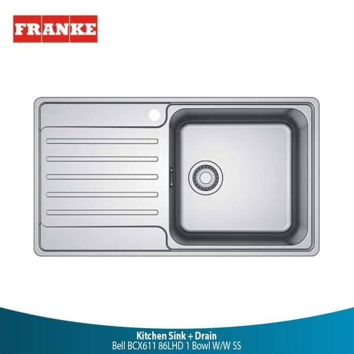 Jual Kitchen Sink Bak Cuci Piring Stainless Steel Franke Bell Bcx611 86lhd Kab Tangerang Mitra10 Bahan Bangunan Tokopedia