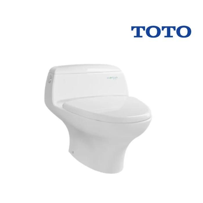 Foto Produk Kloset TOTO CW 840 J / Closet Duduk Monoblok Pelampung Fleksibel dari serisaito