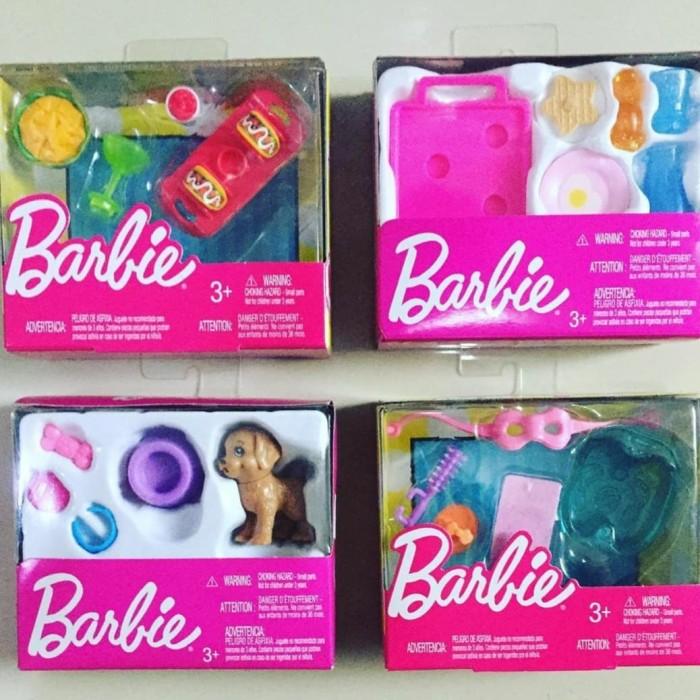 Jual Barbie Accessories Aksesoris Peralatan Masak Boneka Original Mattel Jakarta Utara Soft Tech Tokopedia