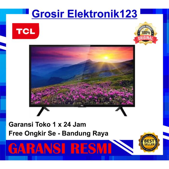Foto Produk TCL LED TV 32 Inch 32D310 tahun 2020 - ready gojek dari Grosir Elektronik123