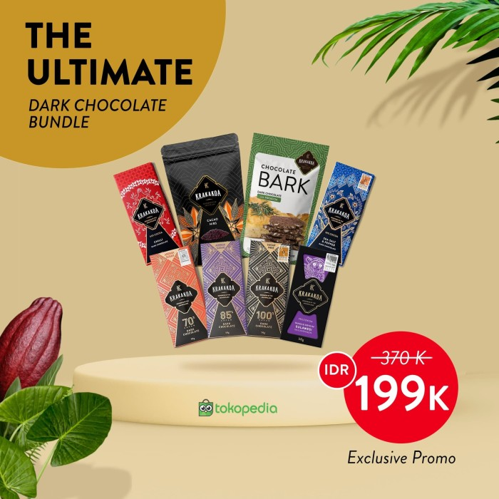 Foto Produk The Ultimate Dark Chocolate Bundle dari Krakakoa Official