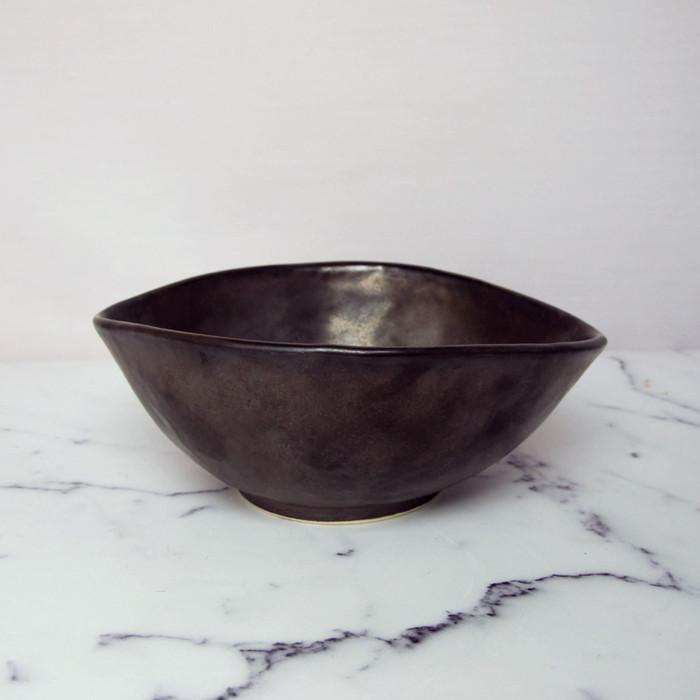 Foto Produk Artisan Ceramic | Metalic GU 1 Japs Bowl S| Mangkok Keramik dari Artisan Ceramic