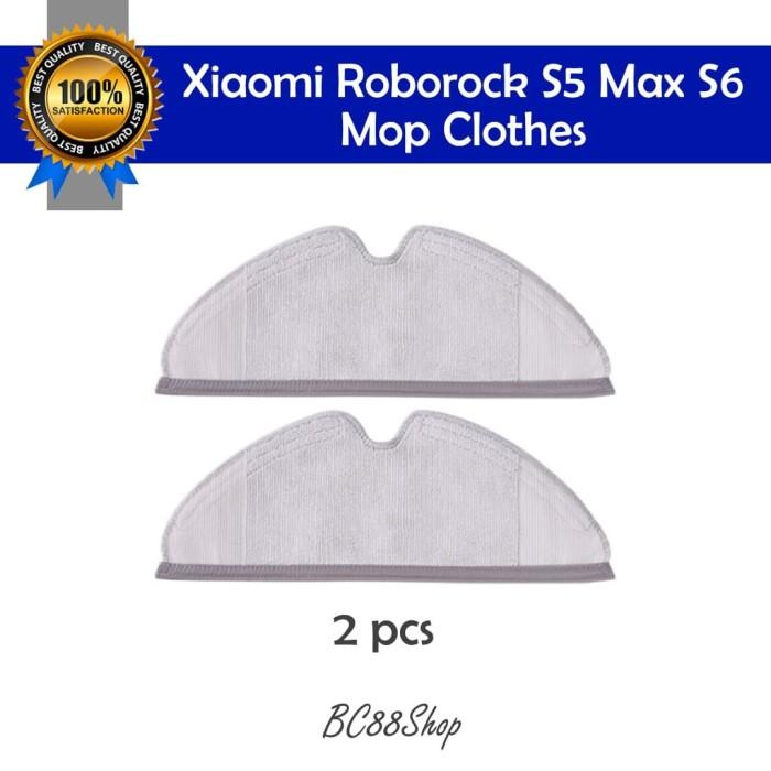 Foto Produk Xiaomi Roborock S5 Max S6 Mop Cloth (sparepart) dari BC88Shop
