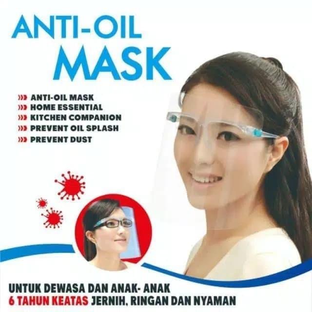 Foto Produk Face Shield Kacamata anti oil mask dari MAG TOYS