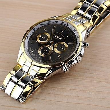 Foto Produk Jam tangan pria mewah emas besi Quartz cocok untuk fashion dan dari Grosirhijaber_MLG