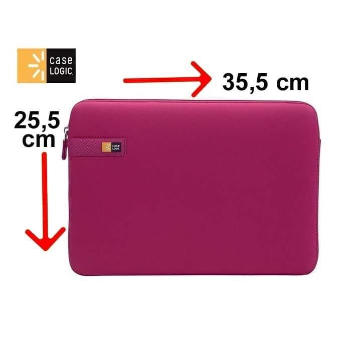 Foto Produk Tas Laptop Case Logic Sarung Softcase Macbook Sleeve 13 inch - pink dari ipeka.netmedia