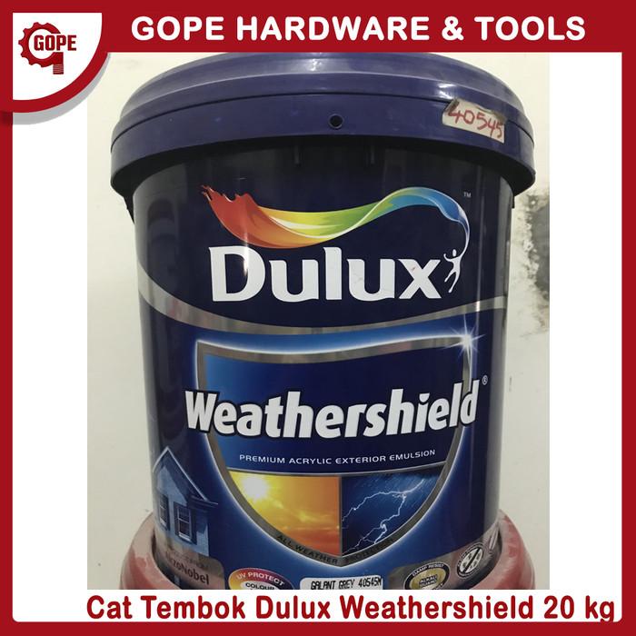 Jual Cat Tembok Luar Dulux Weathershield 1 Pail Jakarta Utara Gope Hardware Tools Tokopedia