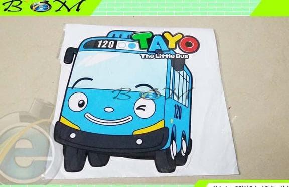 Jual Sticker Stiker Motor Mobil Gambar Cartoon Kartun Tayo Bus Bis Jakarta Pusat Pink Online Shop Tokopedia