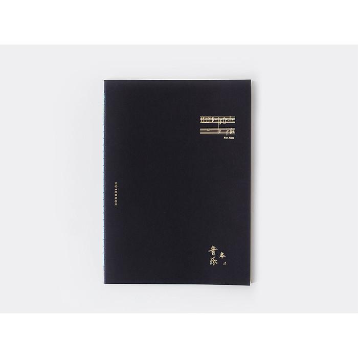 Foto Produk For Alice Music Manuscript Notebook B5 / Buku Tulis B5 / Buku Catatan - Black dari Pinkabulous