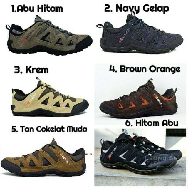 Foto Produk Sepatu Sepeda, Sepatu Karrimor Summit Waterproof dari Leond Shoes