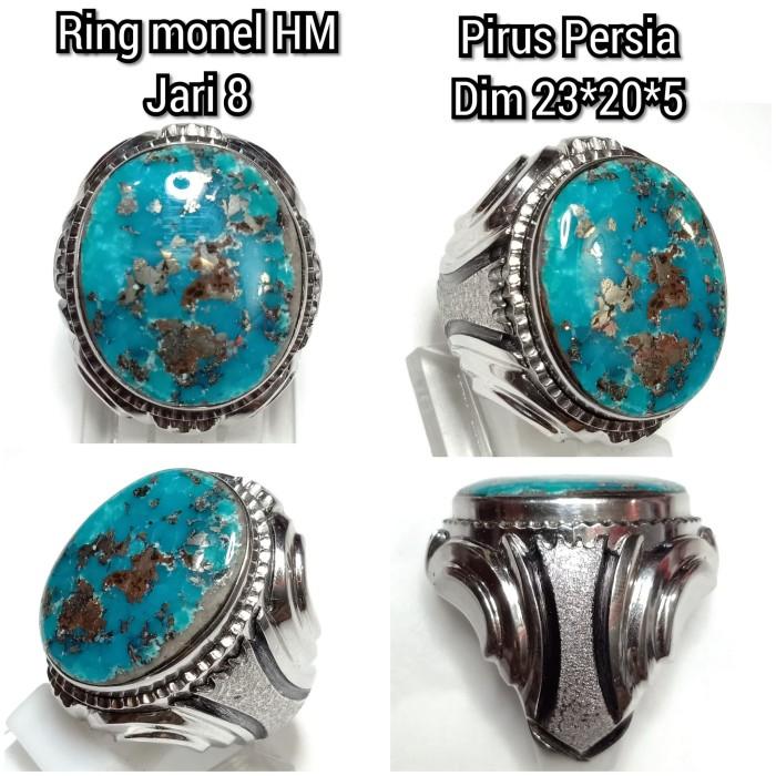 Foto Produk cincin batu pirus Persia naizabur 033 dari arjuna gemstune