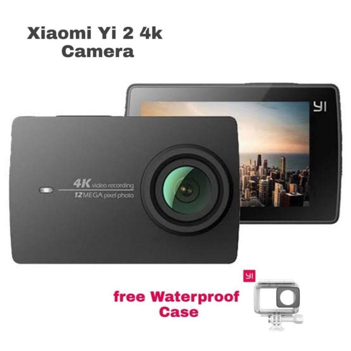 Foto Produk Xiaomi Yi 2 4K Action Camera Free Waterproof Case dari THE MOUNTAIN SHOP