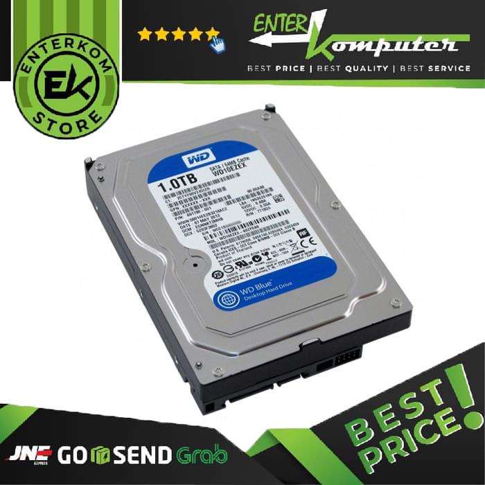 Foto Produk WDC 1TB SATA3 64MB - Blue - WD10EZEX - Used & Garansi 1 Th dari Enter Komputer Official
