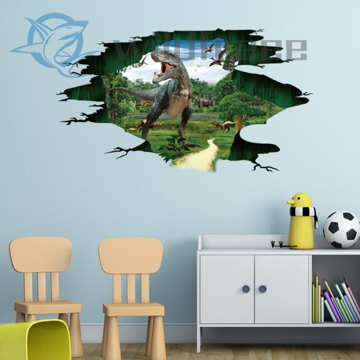 Jual Creative 3d Pvc Wall Stickers Children S Room Decor Wall Jakarta Barat Redm Store Tokopedia
