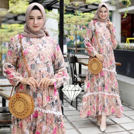 Jual Gamis Lebaran 2020 Remaja Model Gamis Terbaru Ed Syari Mauras Bahan Mo Cokelat L Jakarta Pusat Peyie21 Tokopedia