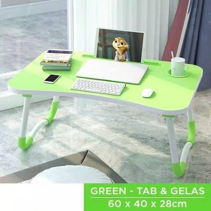 Foto Produk Meja Lipat Belajar Laptop Serbaguna / Meja Lipat / Meja Belajar Laptop dari evencio shop