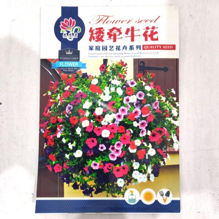 Foto Produk Biji Benih Bibit bunga Petunia Mix retail pack dari Biji Benih