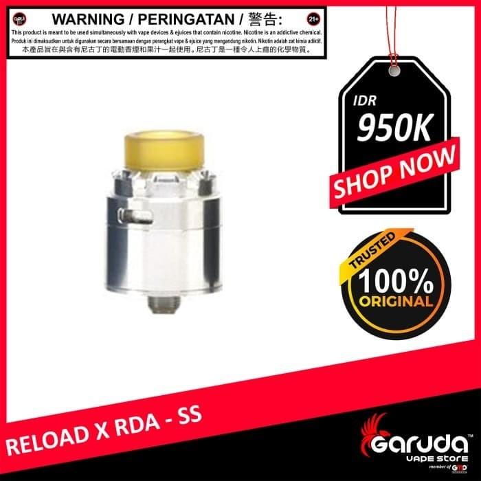 Foto Produk Reload X RDA 100 % Authentic dari Garuda Vape Tangerang