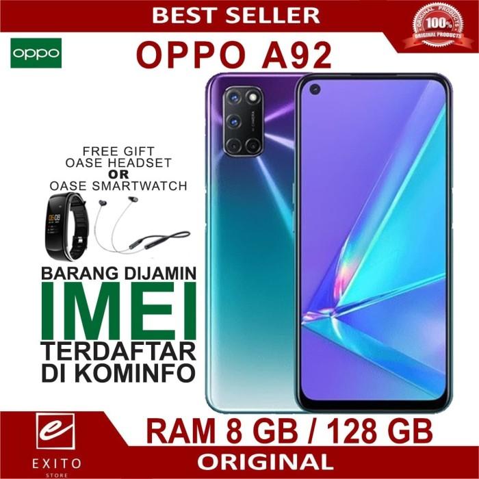 Foto Produk OPPO A92 2020 RAM 8GB ROM 128GB GARANSI RESMI OPPO INDONESIA - Hitam dari Exito Store10