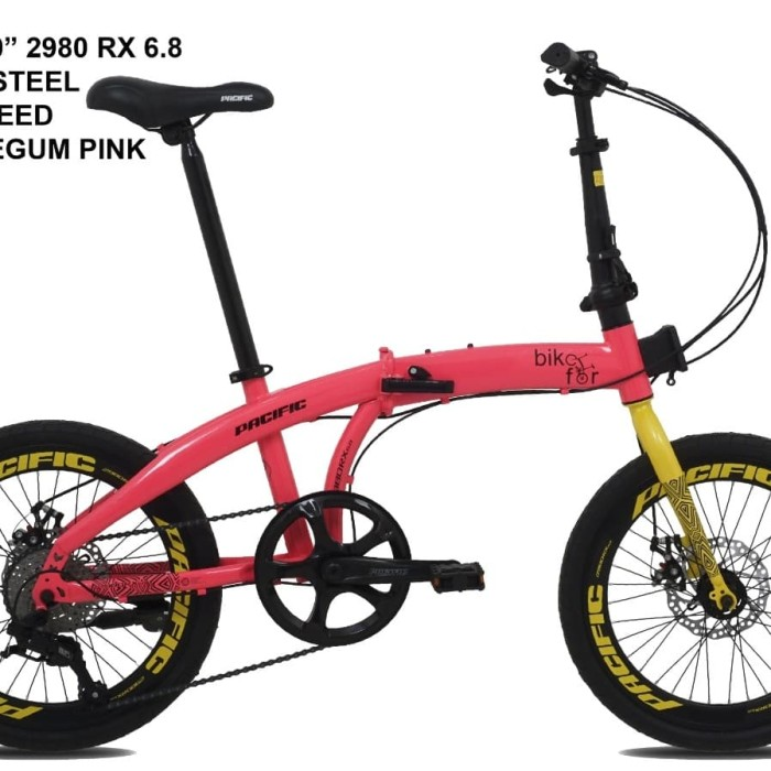 Jual Sepeda Lipat Pacific 2980 Rx 6 8 Kota Pare Pare Kesenangan Parepare Tokopedia