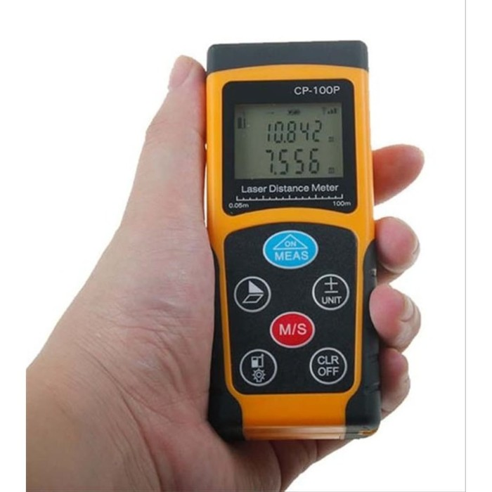 Foto Produk Laser Distance Meter CP100P 100 m Jarak Meteran 100m CP100 CP-100P dari HRDIK