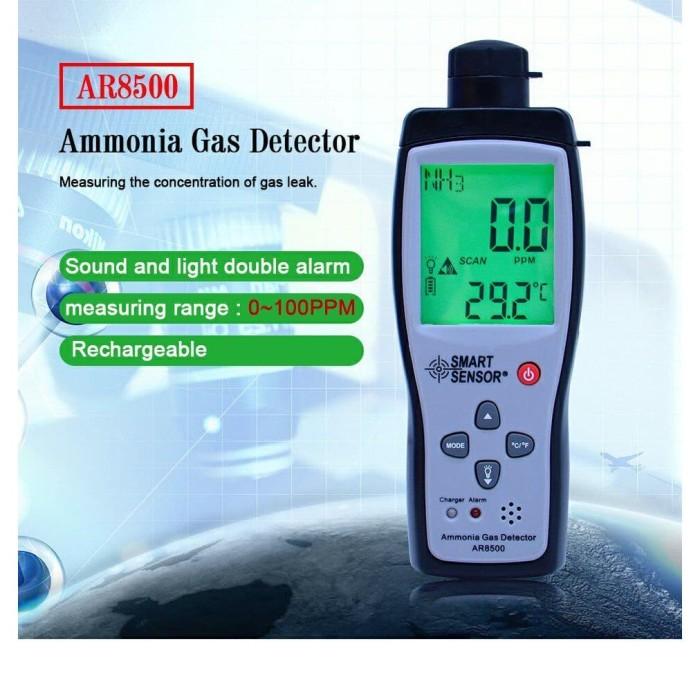 Foto Produk AR8500 Ammonia Gas Detector Smart Sensor Amonia Tester AR-8500 NH3 dari HRDIK
