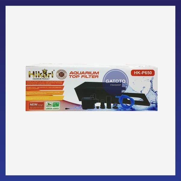 Jual Box Filter Aquarium Lengkap Hikari WP650 - Jakarta ...