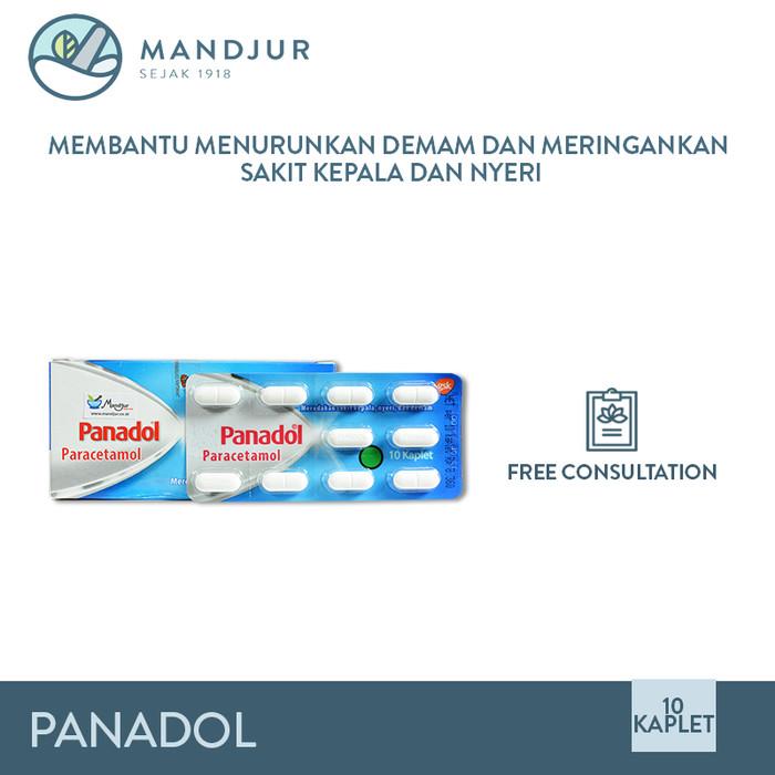 Foto Produk Panadol - Obat Penurun Panas, Pereda Nyeri, Sakit Kepala, Sakit Gigi dari mandjur