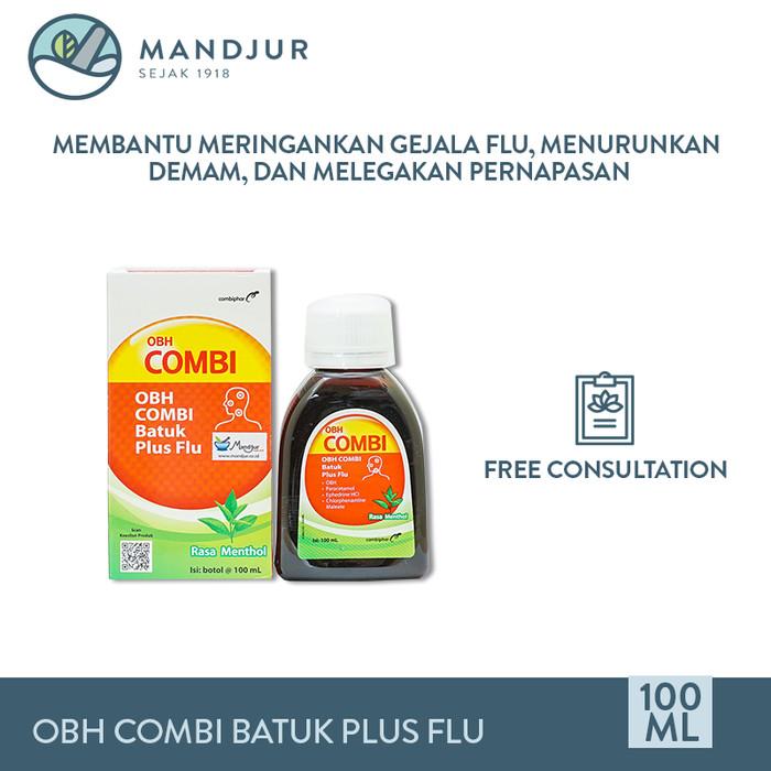 Jual Obh Combi Batuk Plus Flu Meredakan Batuk Flu Dan Demam Jakarta Pusat Mandjur Tokopedia