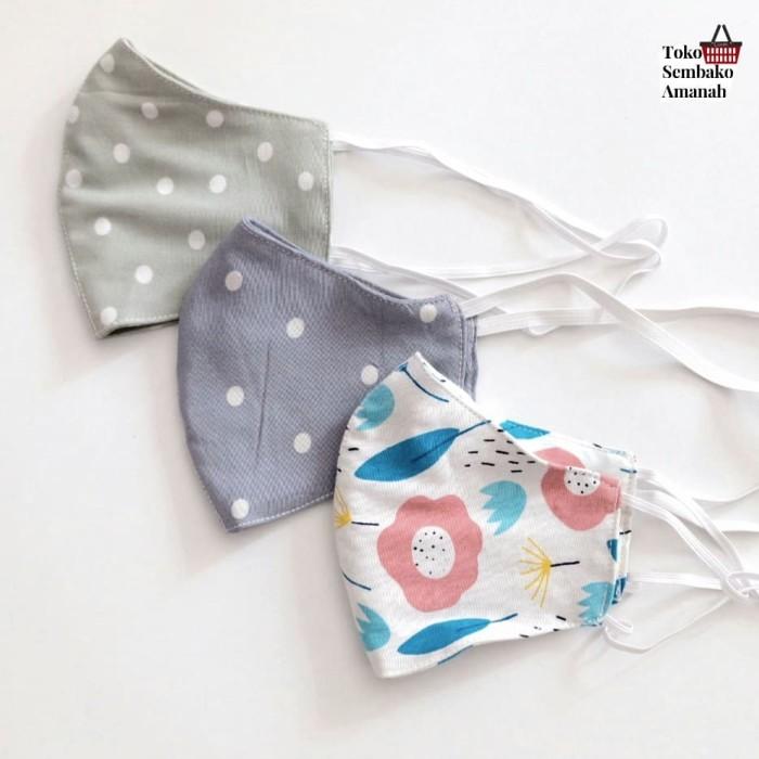 Foto Produk Masker kain Homemade - Motif 1 dari Sembako Amanah20