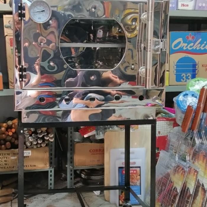 Foto Produk OVEN GAS STENLIS 40X60 MODEL SEMI BANDUNG FREE LOYANG VIA OJOL dari majdi syarif