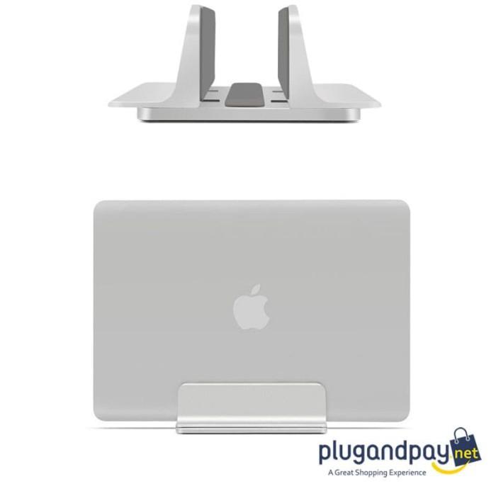 Foto Produk Stand Holder Bracket Dudukan Laptop / Buku Alumunium Multifungsi dari plugandpay