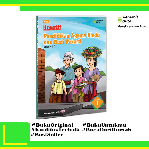 Jual Kreatif Pendidikan Agama Hindu Dan Budi Pekerti Sd Kelas 1 K13 Revisi Kota Bandung Pt Duta Official Tokopedia