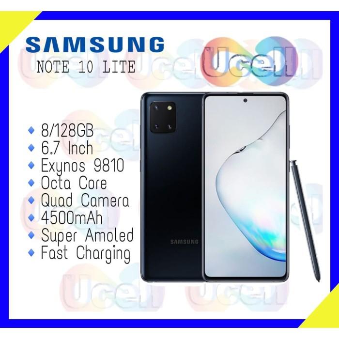 Foto Produk Samsung Galaxy Note 10 Lite - 8GB/128GB - Garansi Resmi dari ucell cempaka