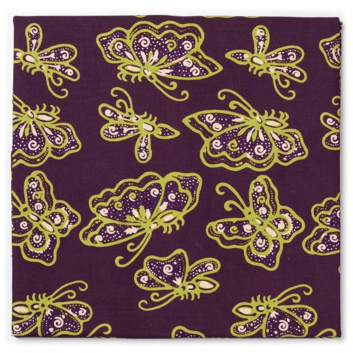 Foto Produk Kain Batik Cap Solo Motif Kupu-kupu dari Kainusa