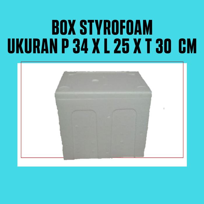 Jual Box Styrofoam Ukuran P 34 X L 25 X T 30 Cm Kota Bekasi Atamas Shop Tokopedia