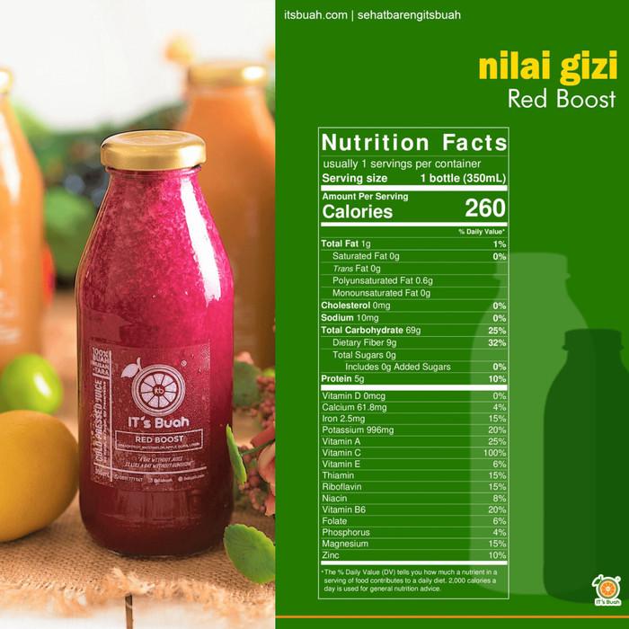 Foto Produk Cold Press Juice Red Boost dari Its Buah