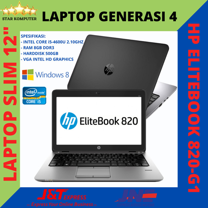 Jual Laptop Hp Elitebook 820 G1 Slim 12 Core I5 Ram 8gb Hdd 500gb Jakarta Pusat Apple Lab Tokopedia