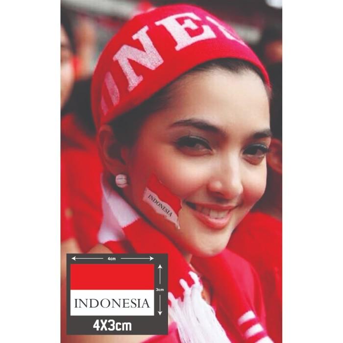 Jual Sticker Pipi Bendera Merah Putih Karnaval Indonesia Jakarta Timur Black Bomb Tokopedia